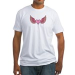 Angel's Wings Fitted T-Shirt