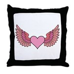 Angel's Wings Throw Pillow