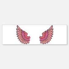 Angel's Wings Bumper Bumper Bumper Sticker