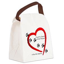 FCAR Logo 2011 Canvas Lunch Bag