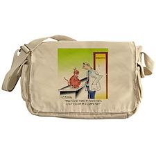 8656_cat_cartoon Messenger Bag