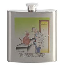8656_cat_cartoon Flask