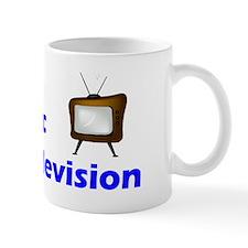 allergic to tv Mug