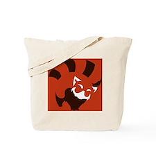 Red Panda (solid ver.) Tote Bag