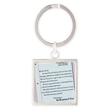 letter9x12 Square Keychain