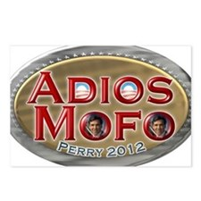 adios mofo Postcards (Package of 8)
