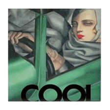 COOL = ITS ALL YOU NEED Tile Coaster