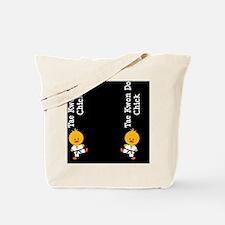 TaeKwonDoChickFlipFlopsCP Tote Bag