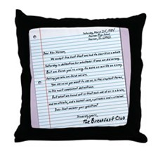 letter16x20 Throw Pillow