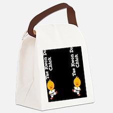 TaeKwonDoChickFlipFlopsCP Canvas Lunch Bag