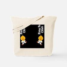 KungFuChickFlipFlopsCP Tote Bag