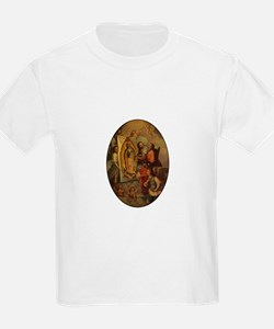 God the Father painting Guada Kids T-Shirt
