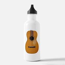 folk guitar Water Bottle