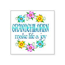 """GRANDCHILDREN Square Sticker 3"""" x 3"""""""