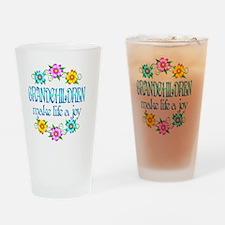 GRANDCHILDREN Drinking Glass
