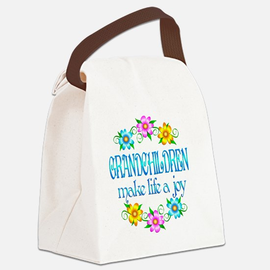 GRANDCHILDREN Canvas Lunch Bag