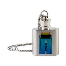 iphone case Flask Necklace