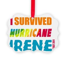 Survived Irene-01 Ornament