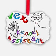 Vet Kennel Assist 1 Ornament