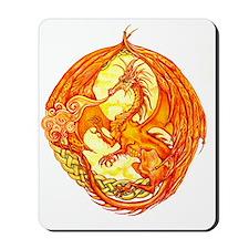 Dragon rotated Mousepad