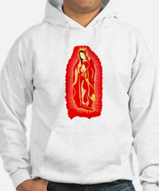 Our Lady of Guadalupe - Red Hoodie