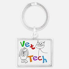 Vet Tech 1 Landscape Keychain