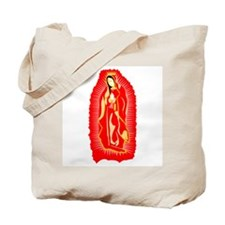 Our Lady of Guadalupe - Red Tote Bag