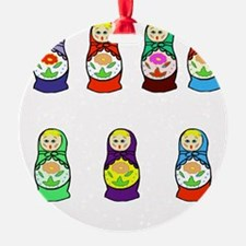 Russian Days of the Week Ornament