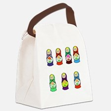 Russian Days of the Week Canvas Lunch Bag