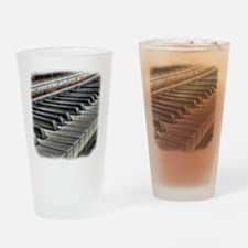 old piano Drinking Glass