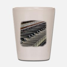old piano Shot Glass