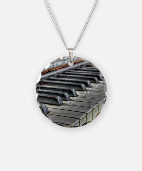 old piano Necklace