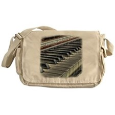 old piano Messenger Bag