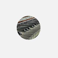 old piano Mini Button