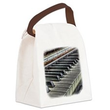 old piano Canvas Lunch Bag
