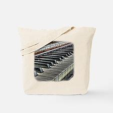 old piano Tote Bag