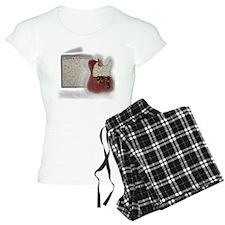 guitar and amp mosaic Pajamas