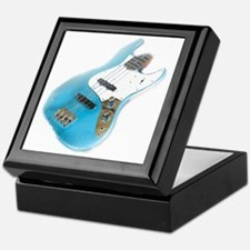 jazz bass distressed Keepsake Box