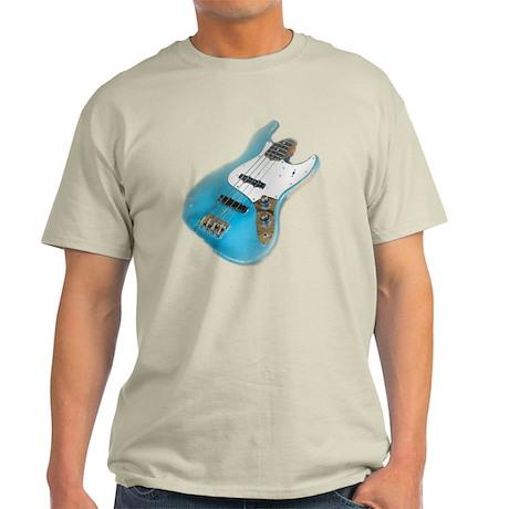 jazz bass distressed Light T-Shirt