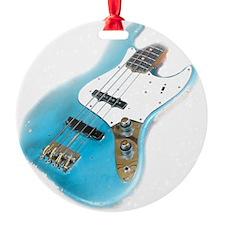 jazz bass distressed Ornament