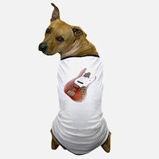 jazz bass distressed red Dog T-Shirt