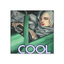 """COOL = ITS ALL YOU NEED Square Sticker 3"""" x 3"""""""