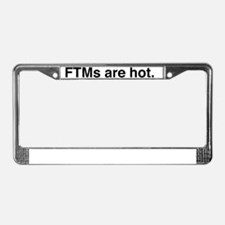 Brothers_WomensUnderwear License Plate Frame