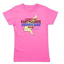 Survived-HurriQuake-shirt Girl's Tee