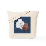 Poodle Pair Tote Bag