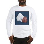 Poodle Pair Long Sleeve T-Shirt