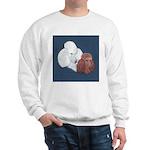 Poodle Pair Sweatshirt