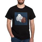 Poodle Pair Dark T-Shirt