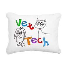Veterinary Medicine Rectangular Canvas Pillow
