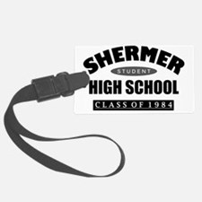 Shermer high school class Luggage Tag